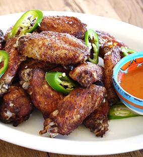 marinaded wings
